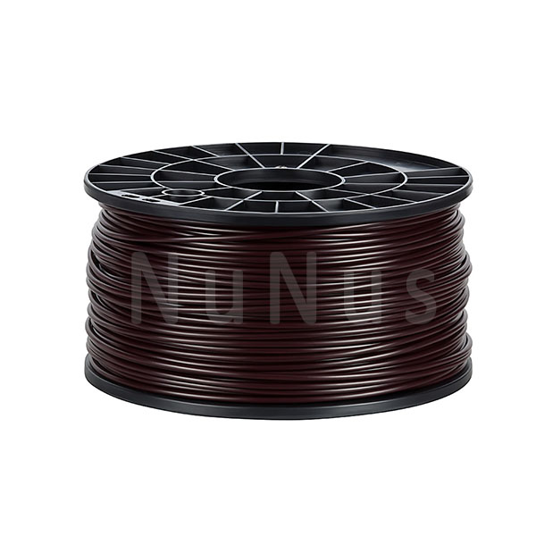 NuNus ABS Filament 3,00mm 1KG braun