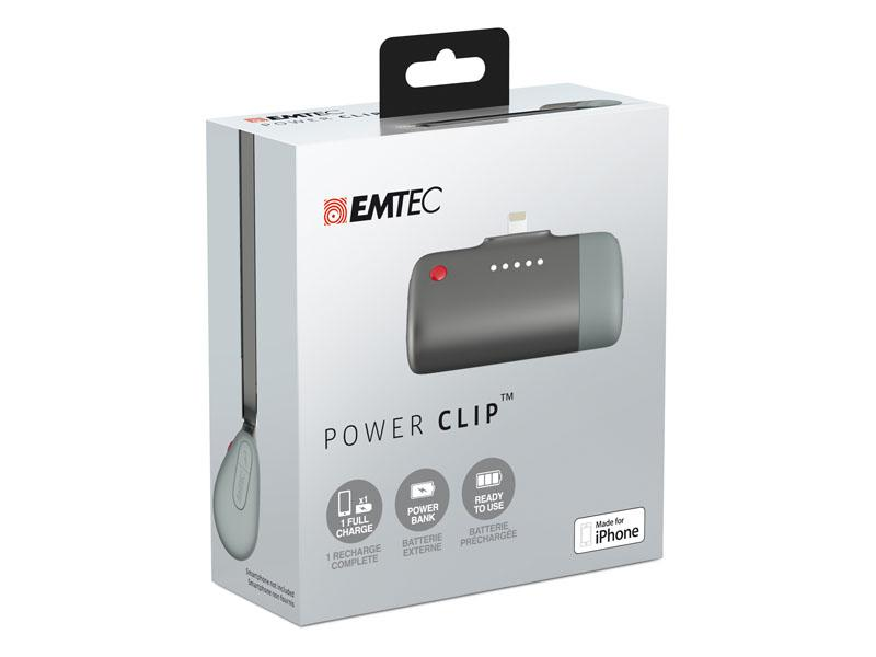 Emtec Power Bank Power Clip U400 Apple 2600mAh